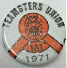 TEAMSTERS '71 LOCAL 181 VANCOUVER B.C. CANADA TRUCKDRIVERS & DEFUNCT Pin