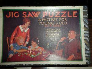 Vintage Wooden Jigsaw