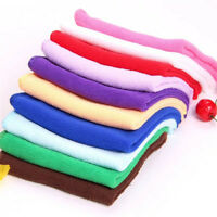 10Pcs 20*20cm Square Towel Soft Fiber Cotton Face Hand Car Cloth Tower US