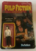 "DAMAGED PACKAGING Pulp Fiction Mia Wallace Funko ReAction 3.75"" Action Figure"