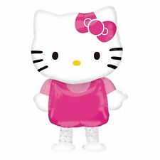 Kids Pink Hello Kitty 39 cm Foil Helium Girls Birthday Balloon Party Decoration