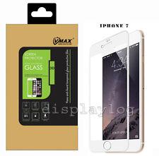 IPhone 7 VMAX 3d FULL Copertina Premium Protezione Schermo in vetro per iPh 7 Bianco