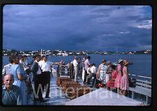 1964 kodachrome photo slide Aboard Ship MS Gripsholm Swedish American Line #5