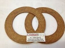 2 x BYPY COMER PTO Shaft Friction Clutch Plate 77x141mm JF Kuhn Krone etc