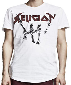 "RELIGION Clothing Herren T-Shirt Shirt ""MUTANT"" Weiß NEU"