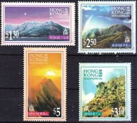 Hong Kong 1996 , Hong Kong Mountains, Stamp set MNH