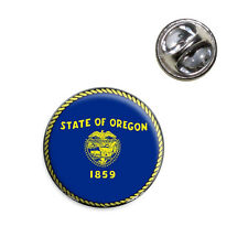 Hat Tie Pin Tack Oregon State Flag Lapel