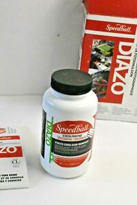 Speedball Diazo Photo Emulsion Kit  651032045592 *Photo Emulsion Remover only