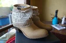 Bunker Mun, Boots femme - Jaune (Tan), 37 EU  ////SOLDE\\