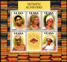 GHANA 2003 Famous People: Women Achievers, MNH