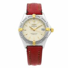 Breitling Sirius Perpetuel Steel Silver Dial Quartz Womens Watch B60622