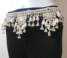 KUCHI TRIBAL BELLY DANCE BANJARA ETHNIC COWRIES HIP BELT JEWELRY COSTUME GYPSY