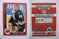 2015 SCA Frederic Cassivi washington capitals goalie never issued produced #d/10