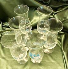 New listing 7 Vintage (60's) Kapok Tree/Peter Pan Inns Hurricane Style Glasses Bar Ware