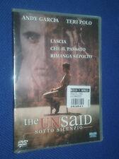 cofanetto+dvd nuovo film UNSAID (THE) - SOTTO SILENZIO FILM DVD NUOVO DI TOM MCL