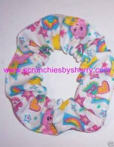 Hair Scrunchie Licensed Print Fabric Scrunchies by Sherry