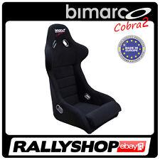 Sportsitz BIMARCO COBRA 2 Rennsitz Schalensitz Sport Rally Sitze Glasfaser