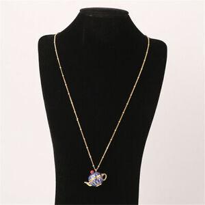 Kate Spade Pendant Diamond Blue Fashion Necklace