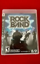Rock Band (Sony PlayStation 3) Game and case excellent condition