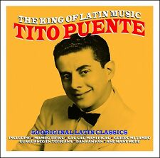 Tito Puente KING OF LATIN MUSIC Best Of 50 Classics MAMBO TIPICO New Sealed 2 CD