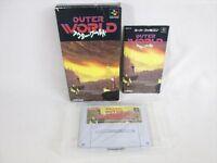 OUTER WORLD Item Ref/ccc Super Famicom Nintendo Import JAPAN Game sf