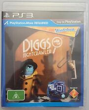 Diggs Nightcrawler (LIKE NEW) PS3 Game Pal Wonderbook REQUIRES: Playstation Move