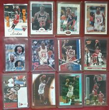 Michael Jordan 12 Card Lot Inserts MJ Tribute Airtime USA American Made Fleer 06