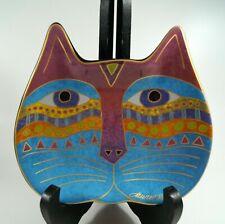 New listing Laurel Burch~Cat Face~Ceramic Dish Trinket JewelryPlate~2007 Wine Things Unlimit