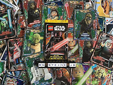 Lego Star Wars serie 1 trading card cards Collection de tarjetas 250 elegir