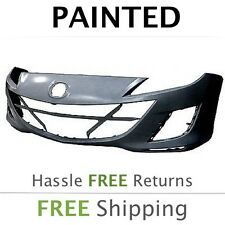 NEW Fits: 2011 2012 Mazda 3 2.0L w/o  Fog Front Bumper Painted MA1000223