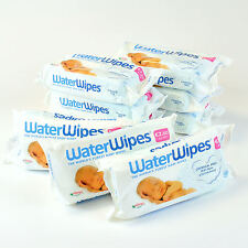 Waterwipes Natural Baby Nappy Wipes Chemical Free for Sensitive Skin Pure Water