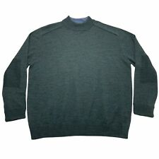 New listing Patagonia Men's XL Vintage Wool Green Long Sleeve Pullover Sweater Ribbed Elbows