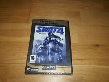 SWAT 4 PC CD-ROM SPECIAL WEAPONS AND TACTICS BRAND NEW AND SEALED
