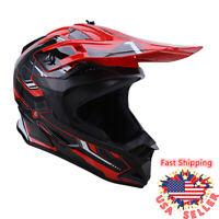 DOT Adult Young Dirt Bike ATV Motocross OffRoad Mountain Sport Protection Helmet