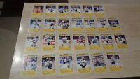 1991-92 Buffalo Sabres Blue Shield Complete Set of 26 Postcards - SCARCE