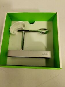 Belkin Valet Charge Dock for Apple Watch and iPhone Silver F8J183ttSLV-APL USED