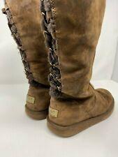 UGG Australia Roseberry 5734 Dark Brown Tall Women's Boots Size 9