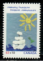 Canada #B20i 63¢ +10¢ Community Foundation Die-Cut MNH