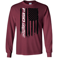 F-150 Lightning American Flag T-Shirt Long Sleeve