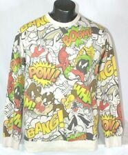 Looney Tunes All Over Cartoon Print Crew neck sweatshirt  Men's sz 2XL EUC Boom