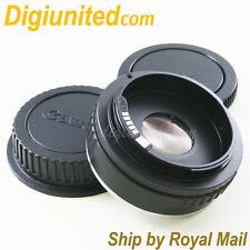 AF Confirm Sony Minolta Alpha AF A lens to Canon EOS EF mount adapter 60D 700D