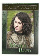 2014 Game of Thrones Season 3 GOLD Parallel Card # 86 Serial # 12/150 Mera Reed
