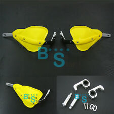 Yellow Handguard with Mount Kit fit Honda CRF 150 100 XR 230 250 400 110