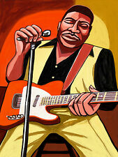 MUDDY WATERS PRINT poster mississippi delta blues best of cd chess fender guitar