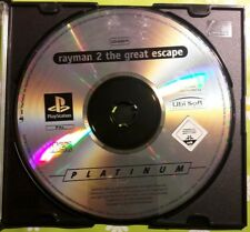 ☆☆ PS1 PSX Playstation Game - Rayman 2 the Great Escape [nur/ only Disc] ☆☆