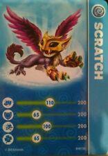 Scratch Skylanders Swap Force Stat Card Only!