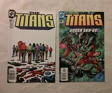 The Titans issues #13 + 14 comic books(DC,2000s)