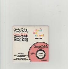 "Cheap Trick- Don't Be Cruel UK 3"" cd single"