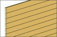 Dollhouse Miniature 1/8 Inch Inch Clapboard Siding by Northeastern Scale Lumber