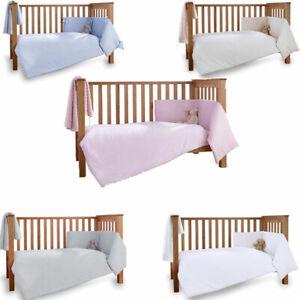 Clair de Lune Dimple 3 Piece Quilt Bedding Bale, Cot/Cot Bed